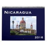 Nicaragua 2016 calendarios