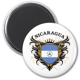 Nicaragua 2 Inch Round Magnet
