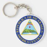 NICARAGUA - bandera/emblema/escudo de armas/símbol Llavero Personalizado