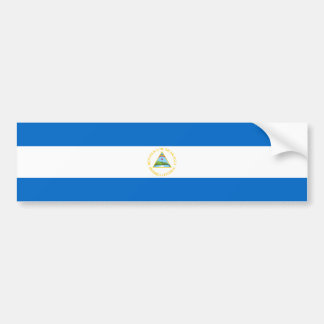 Nicaragua/bandera nicaragüense pegatina para auto
