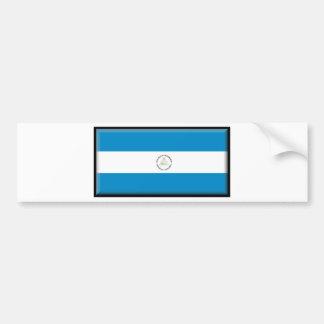 Nicaragua Car Bumper Sticker