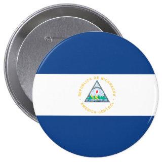 Nicaragua Pinback Button