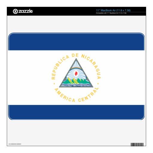 Nicaragua Calcomanías Para MacBook Air