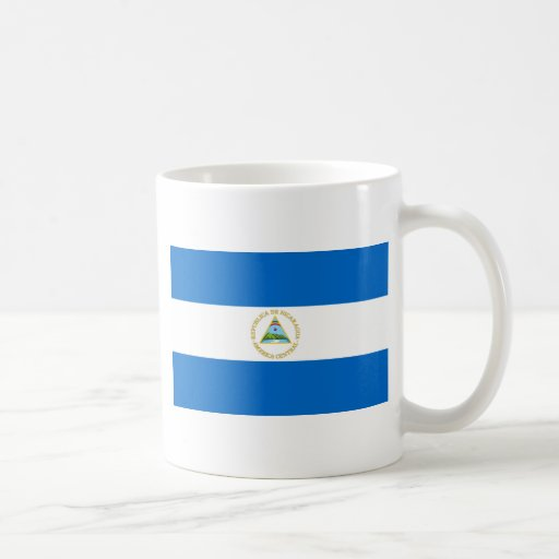 nicaragua classic white coffee mug