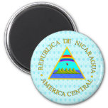 Nicaragua Coat of Arms detail Fridge Magnets