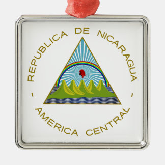 Nicaragua Coat of Arms Ornaments