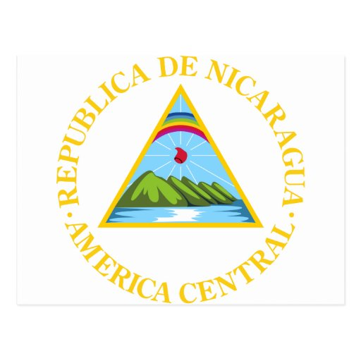 Nicaragua Coat Of Arms Post Cards