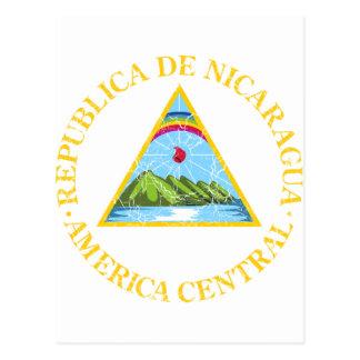 Nicaragua Coat Of Arms Postcards