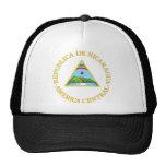 Nicaragua coat of arms trucker hat