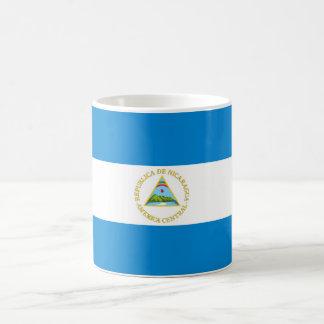 nicaragua country flag nation symbol coffee mug