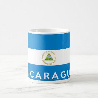nicaragua country flag symbol name text coffee mug