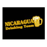Nicaragua Drinking Team Post Cards