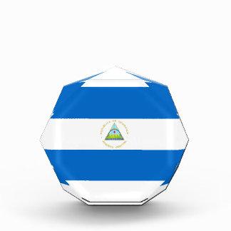 Nicaragua Flag Acrylic Award
