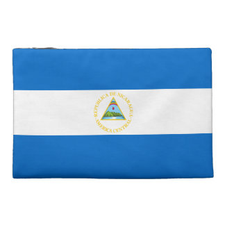 Nicaragua Flag Travel Accessory Bags