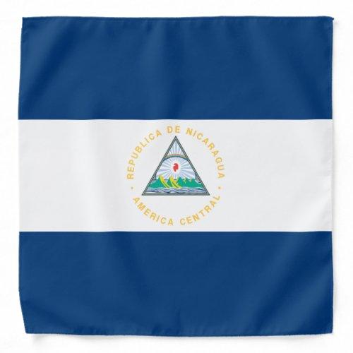 Nicaragua Flag Bandana