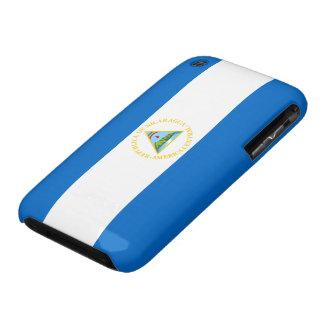Nicaragua Flag iPhone 3 Case