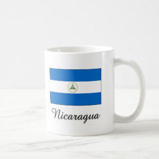 Nicaragua Flag Design Coffee Mug