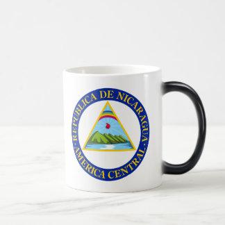 NICARAGUA -  flag/emblem/coat of arms/symbol Magic Mug