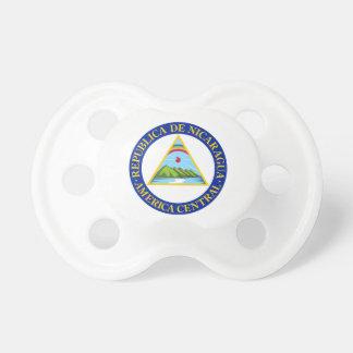NICARAGUA -  flag/emblem/coat of arms/symbol Baby Pacifiers
