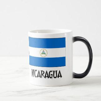 Nicaragua Flag Magic Mug
