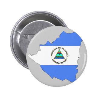Nicaragua flag map button