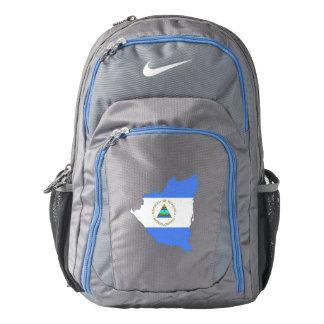 Nicaragua Flag/Map Nike Backpack