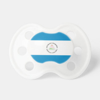 Nicaragua Flag Pacifiers