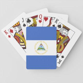 Nicaragua Flag Poker Deck