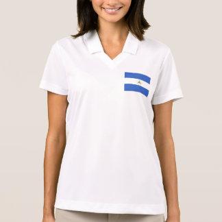 Nicaragua Flag Polo T-shirt