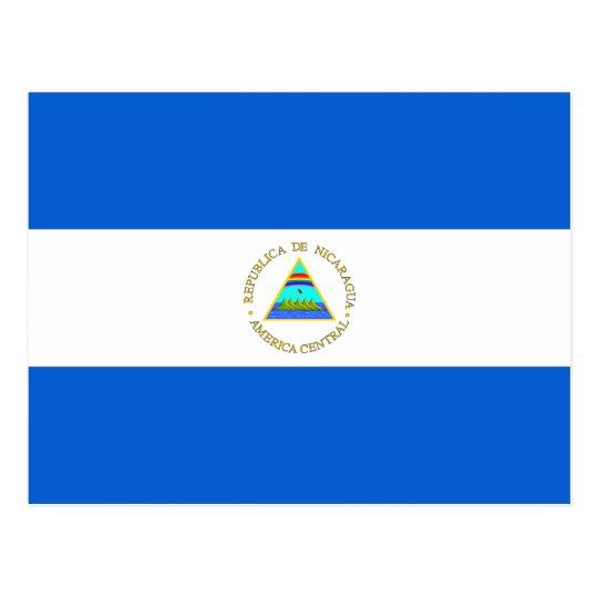 Nicaragua Flag Postcard