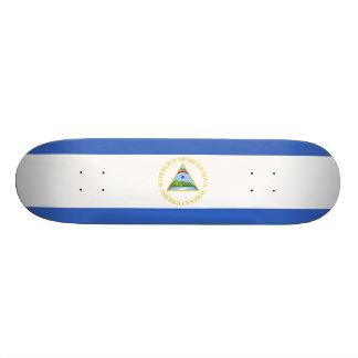 Nicaragua Flag Skateboard