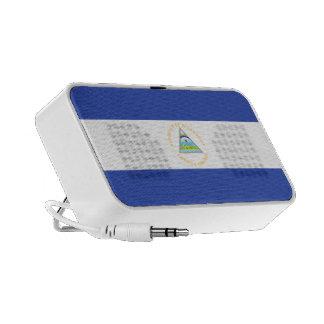 Nicaragua Flag Portable Speakers