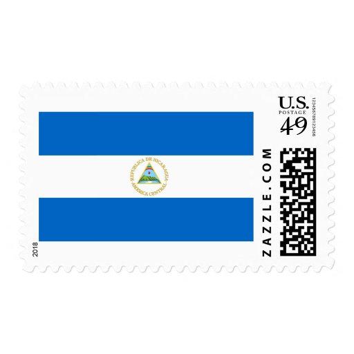 Nicaragua Flag Stamps