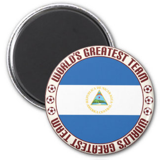 Nicaragua Greatest Team 2 Inch Round Magnet