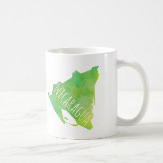 Nicaragua Map Coffee Mug