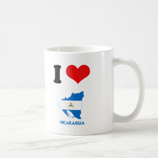 NICARAGUA MAP COFFEE MUGS