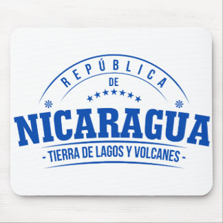 Nicaragua, mouse DAP (it bases for mouse) Mouse Pad