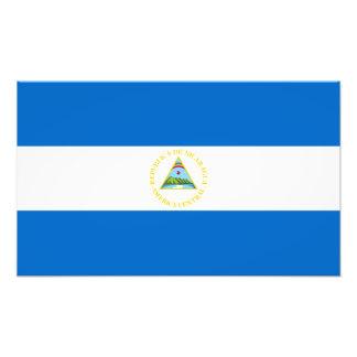 Nicaragua – Nicaraguan Flag Photo Print