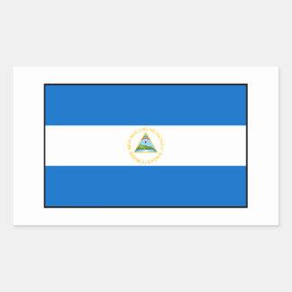 Nicaragua – Nicaraguan Flag Rectangular Sticker
