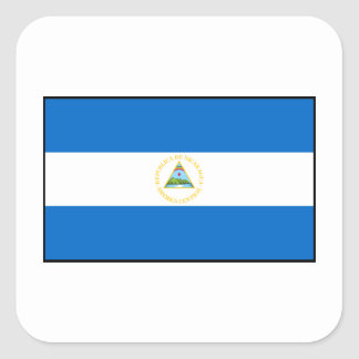 Nicaragua – Nicaraguan Flag Square Sticker