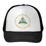 Nicaragua Official Coat Of Arms Heraldry Symbol Trucker Hat