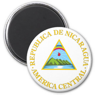 Nicaragua Official Coat Of Arms Heraldry Symbol Magnet