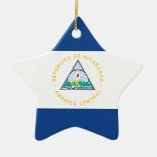 Nicaragua Ornamento Para Arbol De Navidad