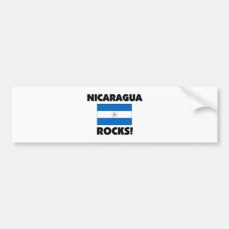Nicaragua Rocks Car Bumper Sticker