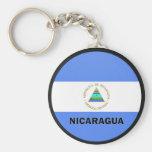 Nicaragua Roundel quality Flag Key Chains