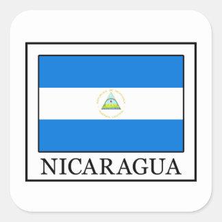 Nicaragua Square Sticker