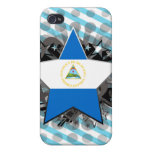 Nicaragua Star Covers For iPhone 4