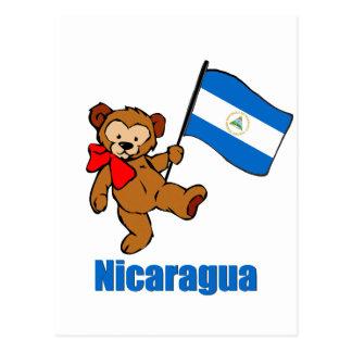 Nicaragua Teddy Bear Post Cards