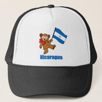 Nicaragua Teddy Bear Trucker Hat