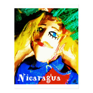 Nicaragua Toro Huaca Postcard